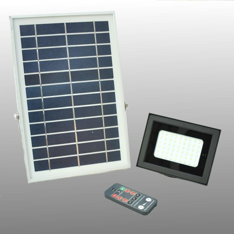 Solar LED outdoor lamp 500 lumen