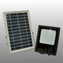 Solar Outdoor lamp with 120 LEDs and microwave motion sensor
