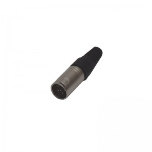 XLR cable connector 5-pole Giant