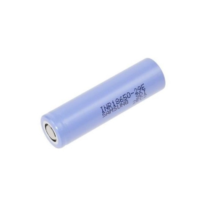 Samsung 3.65V 2900mAh Li-Ion 18650 cel van 3.65V 2900mAh