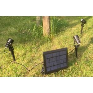Solar tuinspots warm wit set van 3 stuks