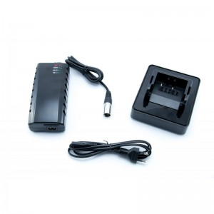 BMZ quick charger 4A for 26V Li-ion batteries