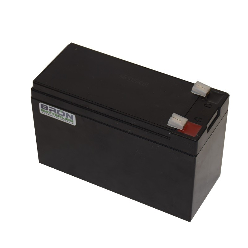 Lead cyclic battery 12V 8Ah rechargeable