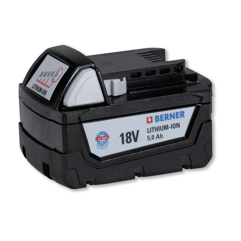 Milwaukee / Berner M18 5Ah li-ion accu reparatie pack