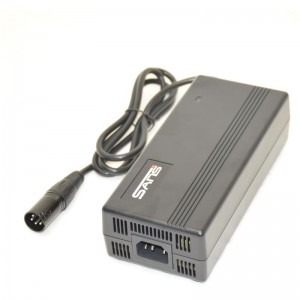 36 volt plug XLR neutrik Li-ion battery quickcharger