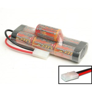 RC accu 8.4V 5000mAh, Tamiya connector