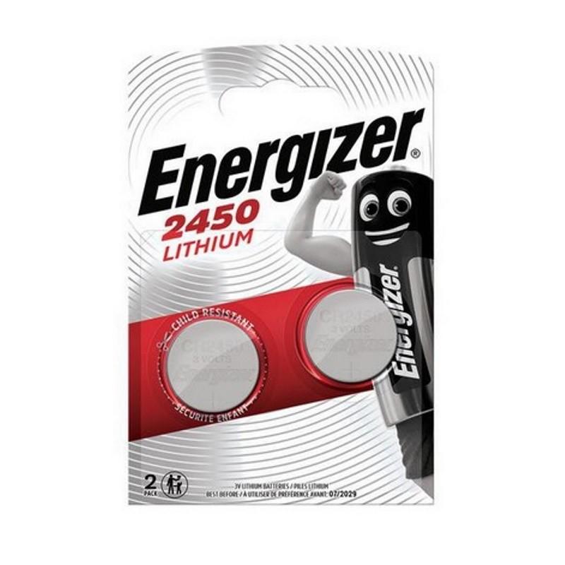 Energizer CR2450 3V 2 pack