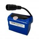 Reserveaccu 7.4V 14000mAh voor LED MTB fietslamp