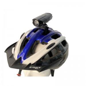 LED fietslamp/hoofdlamp 800 Lumen USB oplaadbaar