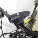 LED bike light 900 Lumen USB rechargeable