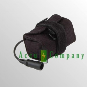 Reserveaccu 7.4V 5200mAh voor LED fietslamp