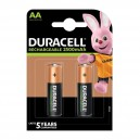Duracell battery rechargeable AA 4-blister