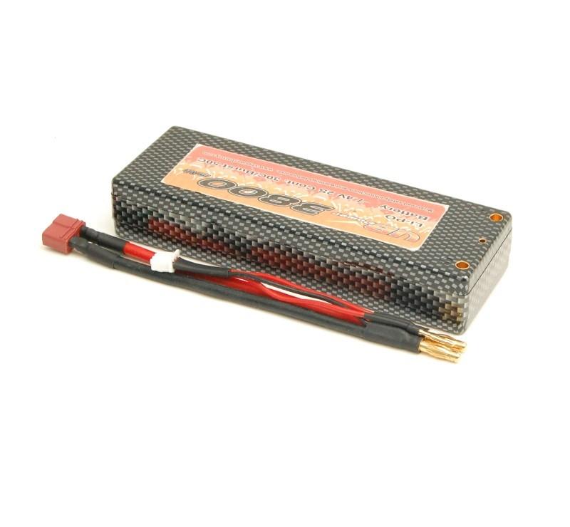 Lipo AccuPack 7.4V 3800mAh hardcase
