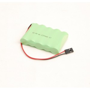 RC battery 6V 1800mAh, futaba connector