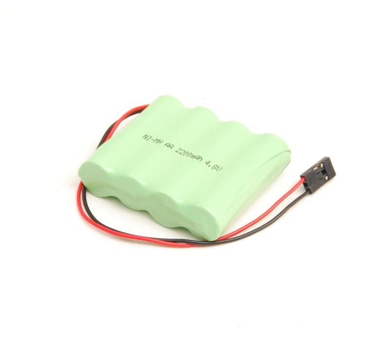 RC accu 4,8V 2200mAh, futaba connector