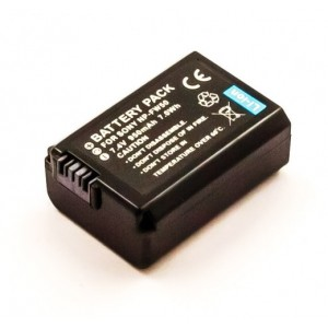 SONY NP FW50 LI-ION 7.4V 1080mAh replacement Battery