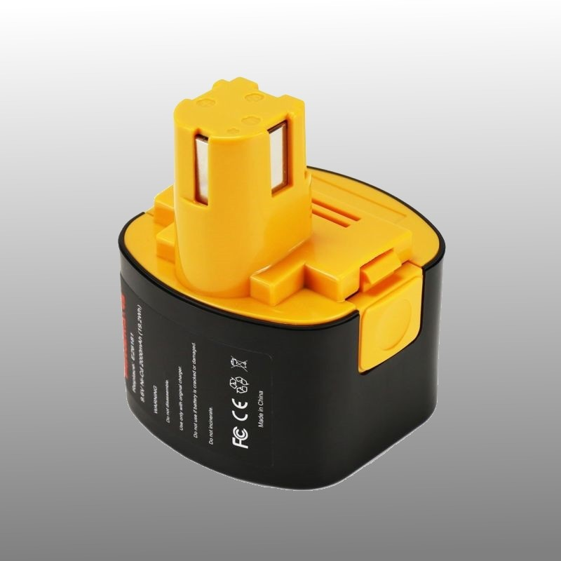 Replacement Battery for Panasonic 9.6V 3Ah screw machine NiMH