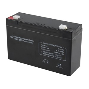 HQ Lead-acid battery 6V 10 Ah