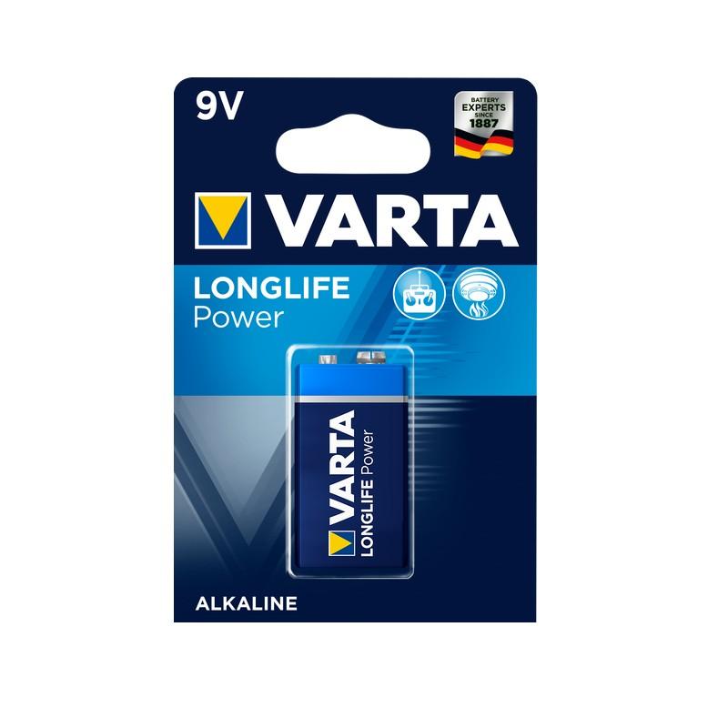 Varta 9V battery Blister 4922 high energy Alkaline