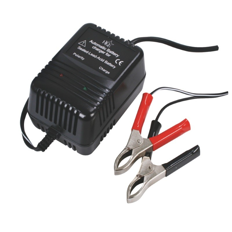 HQ Charger for lead battery 2V, 6V - 12V