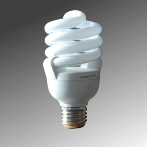 Spiral lamp 20W with internal dimmer