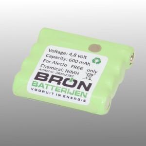 Batterij voor Alecto FR-66 / FR66 portofoon