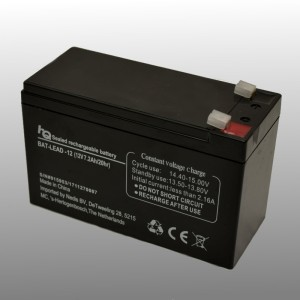 HQ Rechargeable Lead Battery 12V 7.2Ah