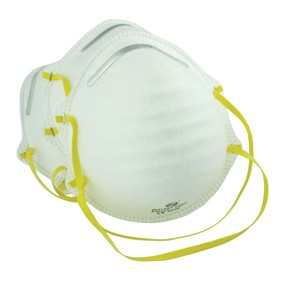 Dust mask packed per 3 pieces