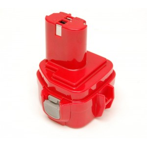 Makita 12V 3Ah NiMH type 1235 RED replacement battery