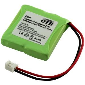 Phone battery for Siemens Gigaset E40 NiMH