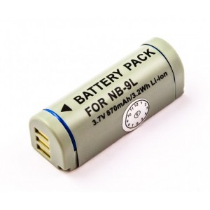 Canon NB-9L LI-ION 3.7V 870mAh camera battery