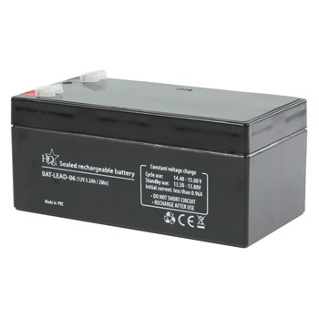 HQ Rechargeable Lead Battery 12V 3.2Ah