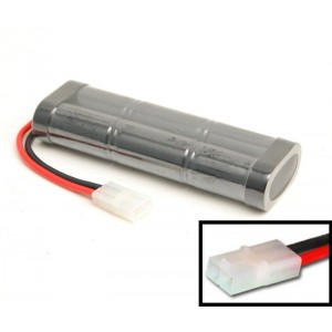 RC battery 7.2V 3000mAh, Tamiya connector