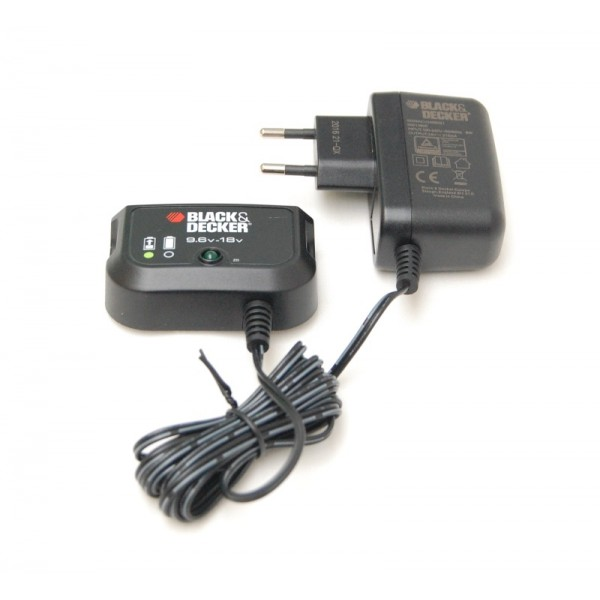black and decker 18 volt battery charger instructions