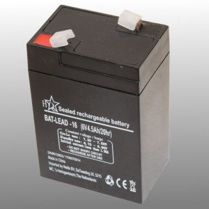 Rechargeable Lead Battery 6V 4.5Ah LT640