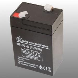 Oplaadbare Loodaccu 6V 4.5Ah LT640