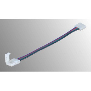 Connection plug flexible for RGB LED strips