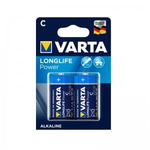Battery Alkaline C 1.5V High Energy 2-blister Varta