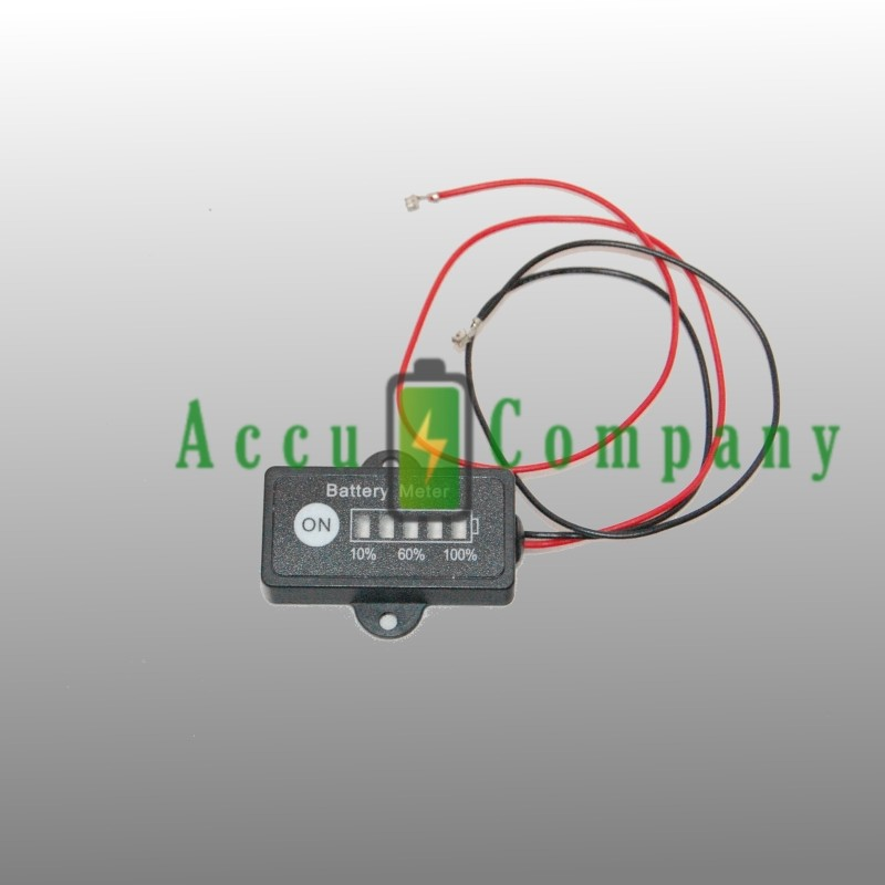 Batterij indicator voor 12V accu's