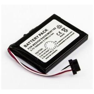 GPS batterij voor MEDI medion, Mio Moov, Lithium Ion