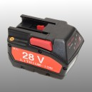 Milwaukee 28V 2Ah Li-ion M28 replica accu
