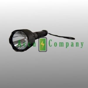 Flashlight set LED 3w Li-ion