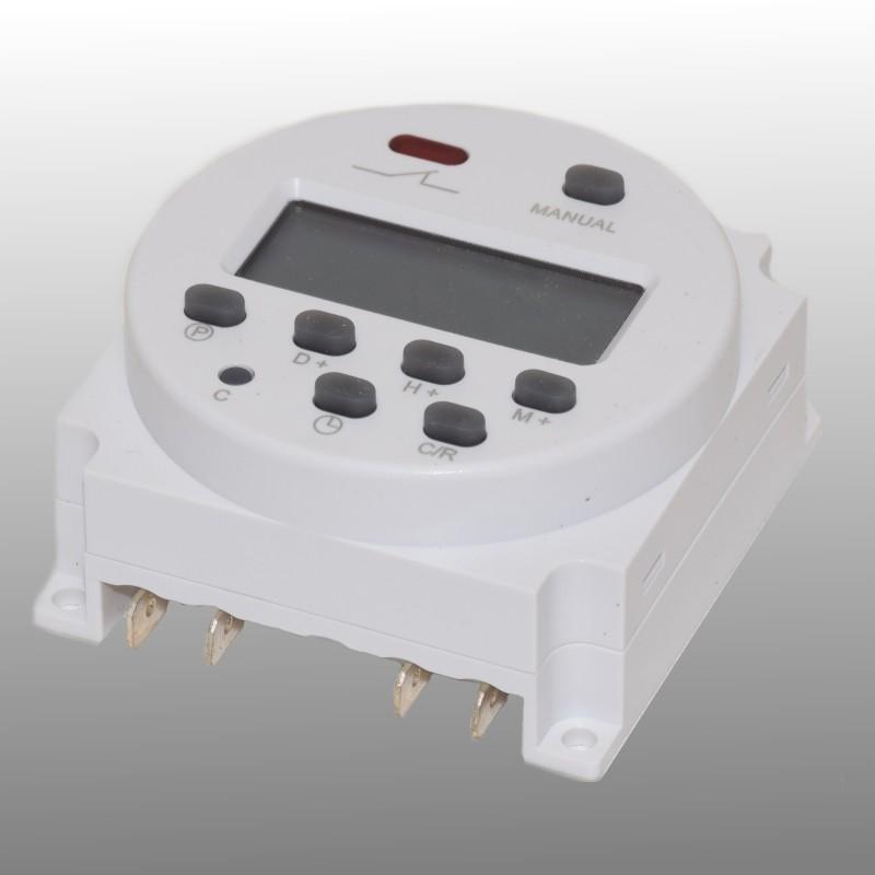 12V Digitale schakelklok instelbare timer / tijdklok