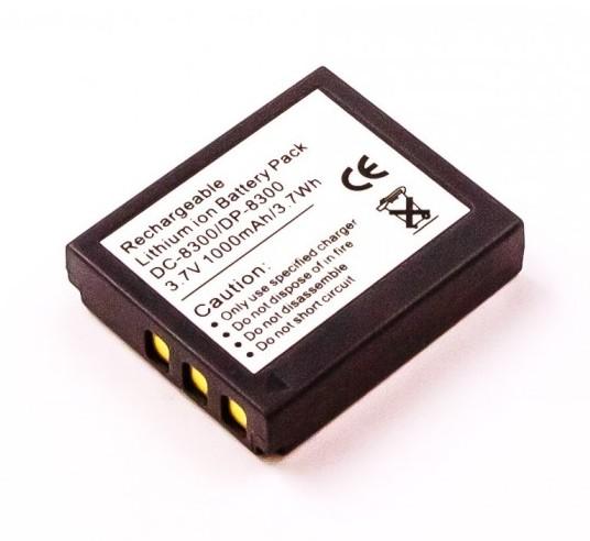 CANON BP-511 LI-ION 7.2V 1400mAh vervangende accu
