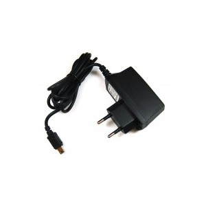 Phone charger with mini USB plug 1A output