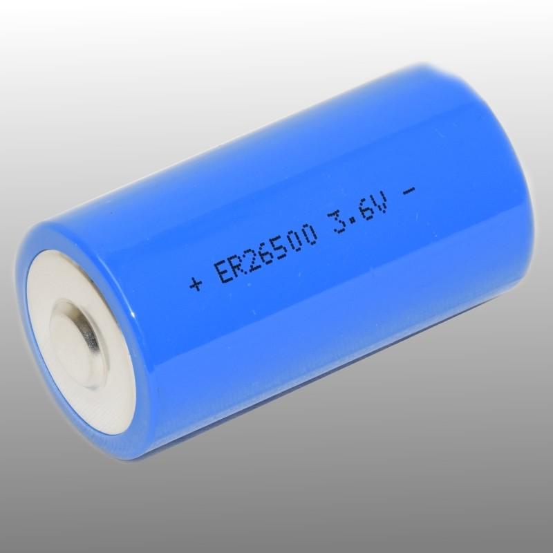 Lithium thionyl chloride ER26500 3,6V 9Ah