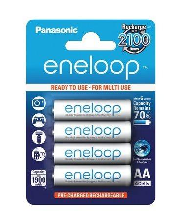Panasonic eneloop AA batterij 1900mAh 1,2V