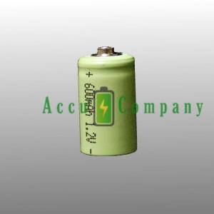 1/2 AA batterij herlaadbaar 600mAh