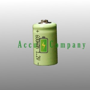 1/2 AA battery rechargeable 600mAh
