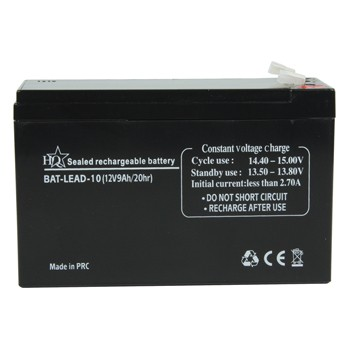 HQ Rechargeable Lead-acid Battery 12V 9Ah